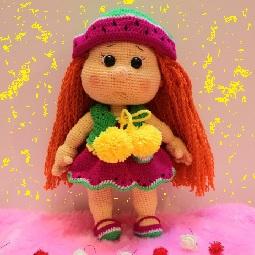 بافنده عروسک های تزئینی - دوزنده عروسک